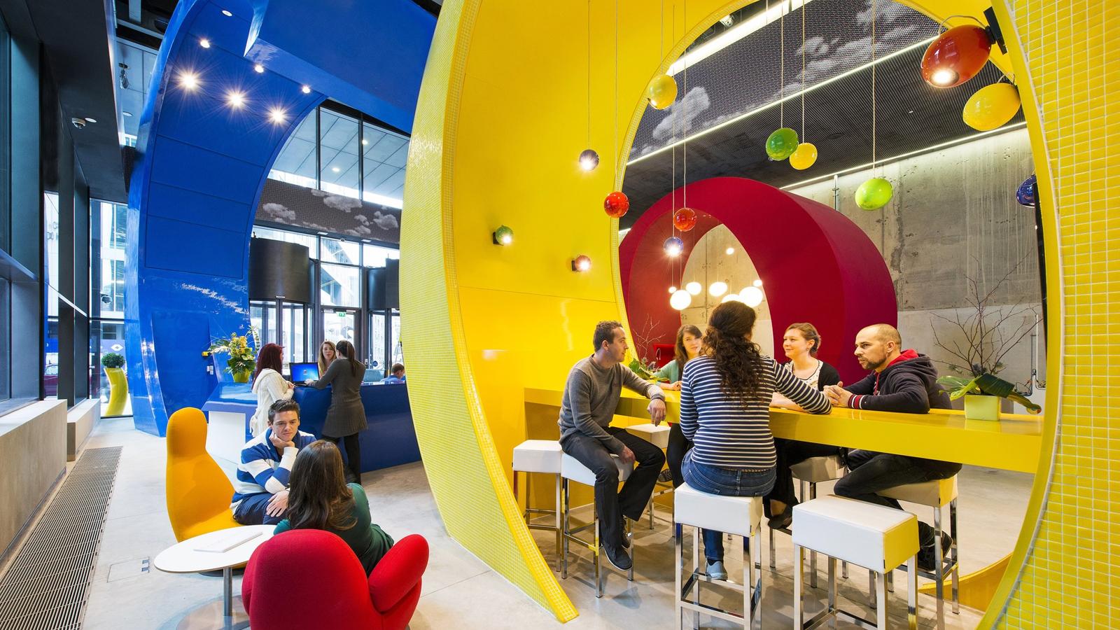 El equipamiento de las oficinas de Google es una referencia a nivel mundial