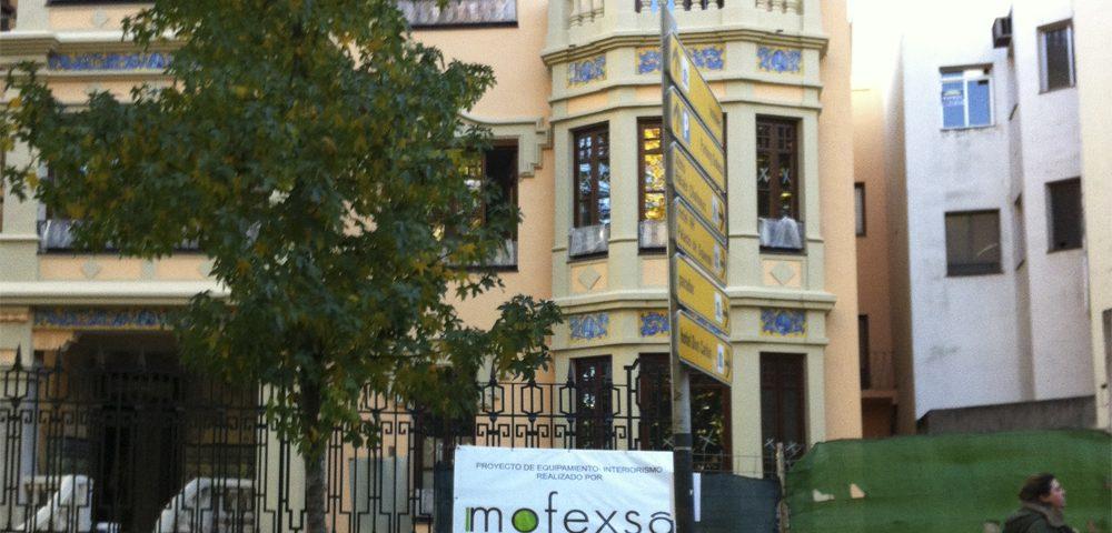 Sede Caja Almendralejo en Cáceres por Mofexsa
