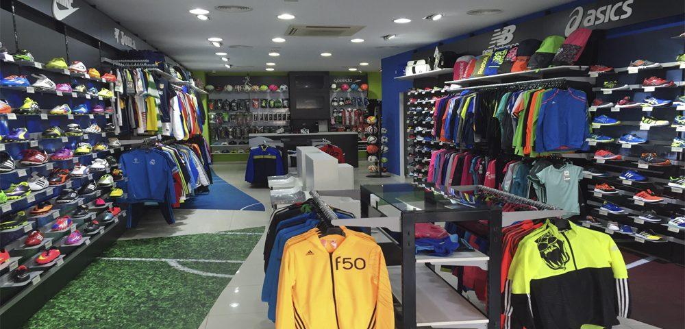 Tienda Deportiva en Badajoz por Mofexsa