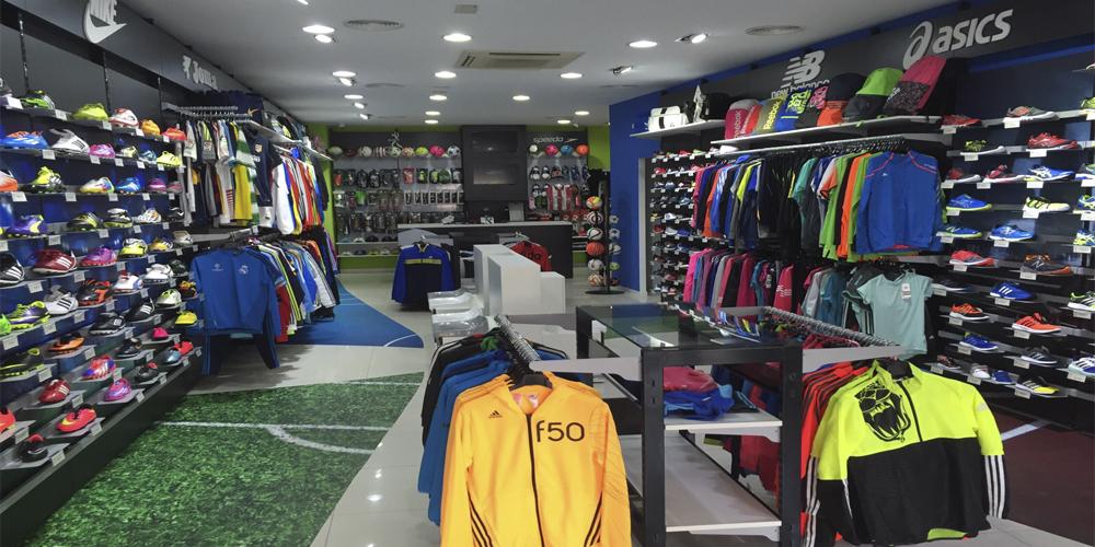 Tienda Deportiva Badajoz por Mofexsa
