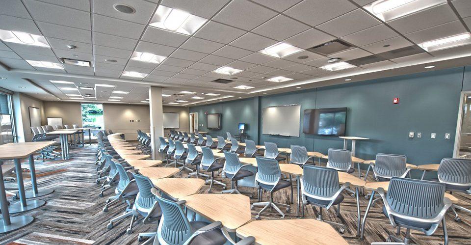 El Interiorismo en centros educativos y aulas ayuda a la productividad