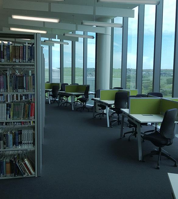 El Interiorismo en las bibliotecas debe ayudar a la capacidad de concentración